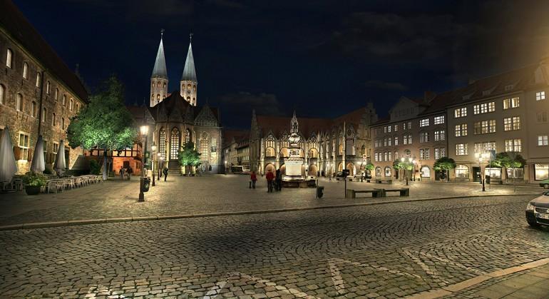Place du marché – Braunschweig