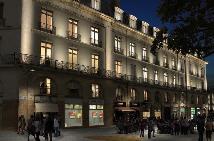 Nantes – Rue de la tremperie
