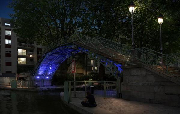Paris – Passerelle St Martin