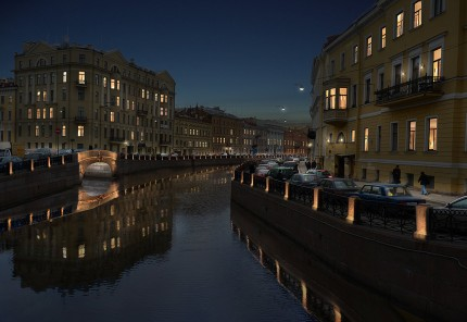 Saint Petersbourg - Canal