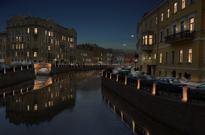 Saint Petersbourg – Canal