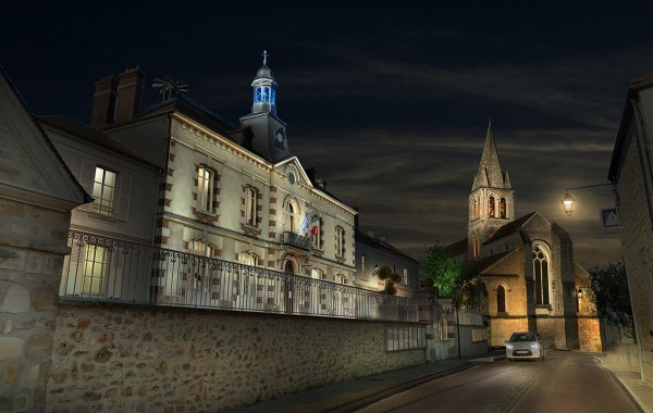 Jouy-le-moutier – Église