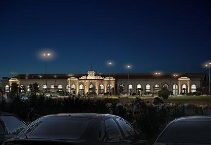 Infographie 2D - Gare de Sete - Gilles Coutelier