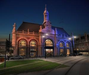 Infographie 3D - Zenith de Strasbourg - Gilles CoutelierGare de Valenciennes