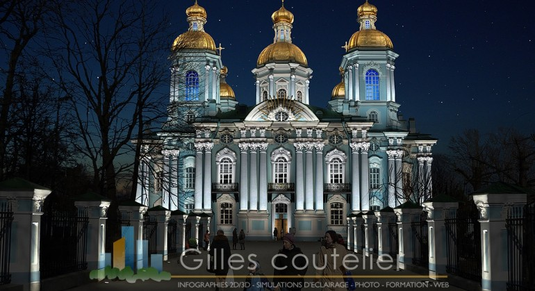 Eglise Notre-dame des marins à Saint-Petersbourg