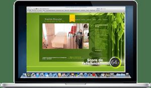 création du site internet - cabinet de massage chinois Strasbourg