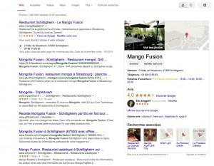 visibilité sur google