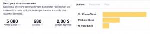 mesure audience facebook campagne