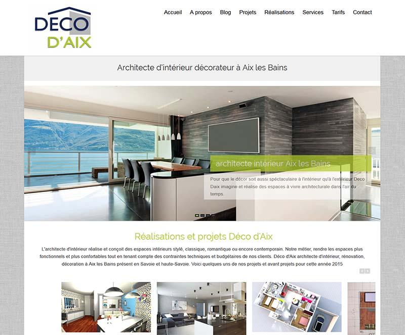création de site internet de décoration