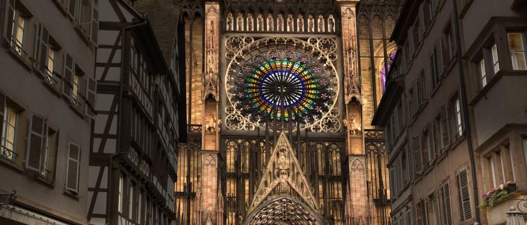 ©Gilles Coutelier - Infographie - Cathédrale Notre-Dame Allées - Strasbourg