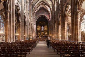 ©Gilles Coutelier - Photographie - Cathédrale Notre-Dame Nef - Strasbourg