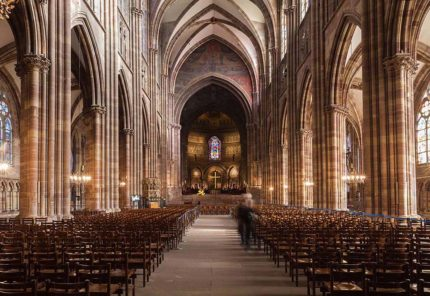 ©Gilles Coutelier - Photographie - Cathédrale Notre-Dame Nef - Strasbourg