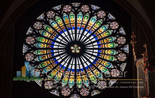 Rosace Cathédrale – Strasbourg