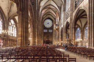 ©Gilles Coutelier - Photographie - Rosace de la Cathédrale Notre-Dame - Strasbourg