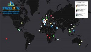 Cartographie interactive des Références en Infographie 2D/3D Twis.fr