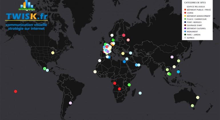 Création d'une cartographie interactive